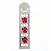Mackintosh 3 Red Roses Bookmark